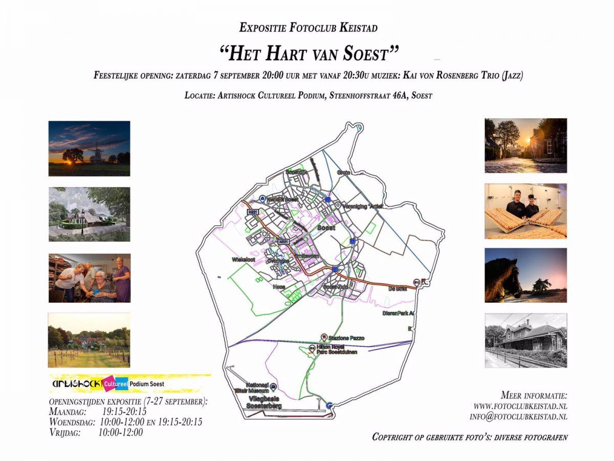 Expositie Artishock: Fotoclub Keistad op zoek naar het hart van Soest